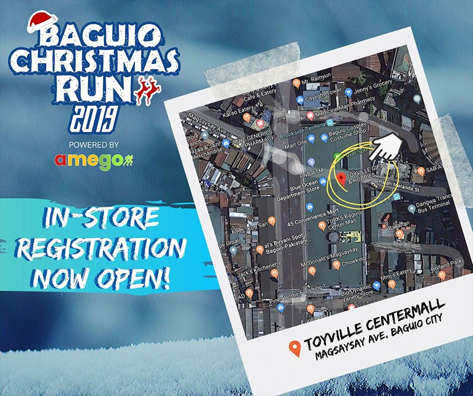 2019 Baguio Christmas Run by Amego